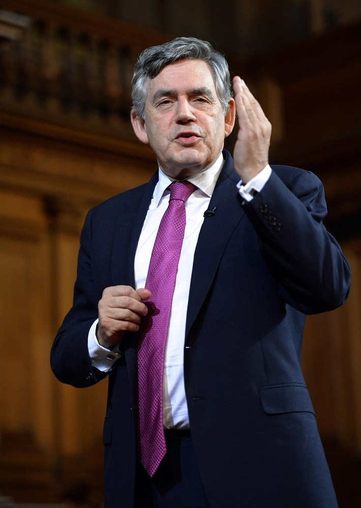Gordon Brown forgets he's still an MP after claiming: 'I'm an ex-politician'