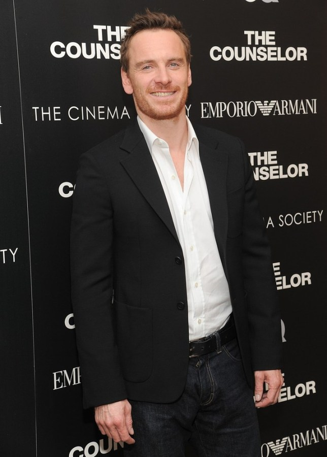 "Actor Michael Fassbender attends a special screening of ""The Counselor"" hosted by The Cinema Society, Emporio Armani and GQ at the Crosby Street Hotel on Wednesday, Oct. 9, 2013 in New York. Evan Agostini/Invision/AP"