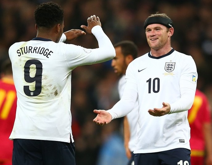 Danny Welbeck and Wayne Rooney will have to be at their best again (Picture: Getty Images)