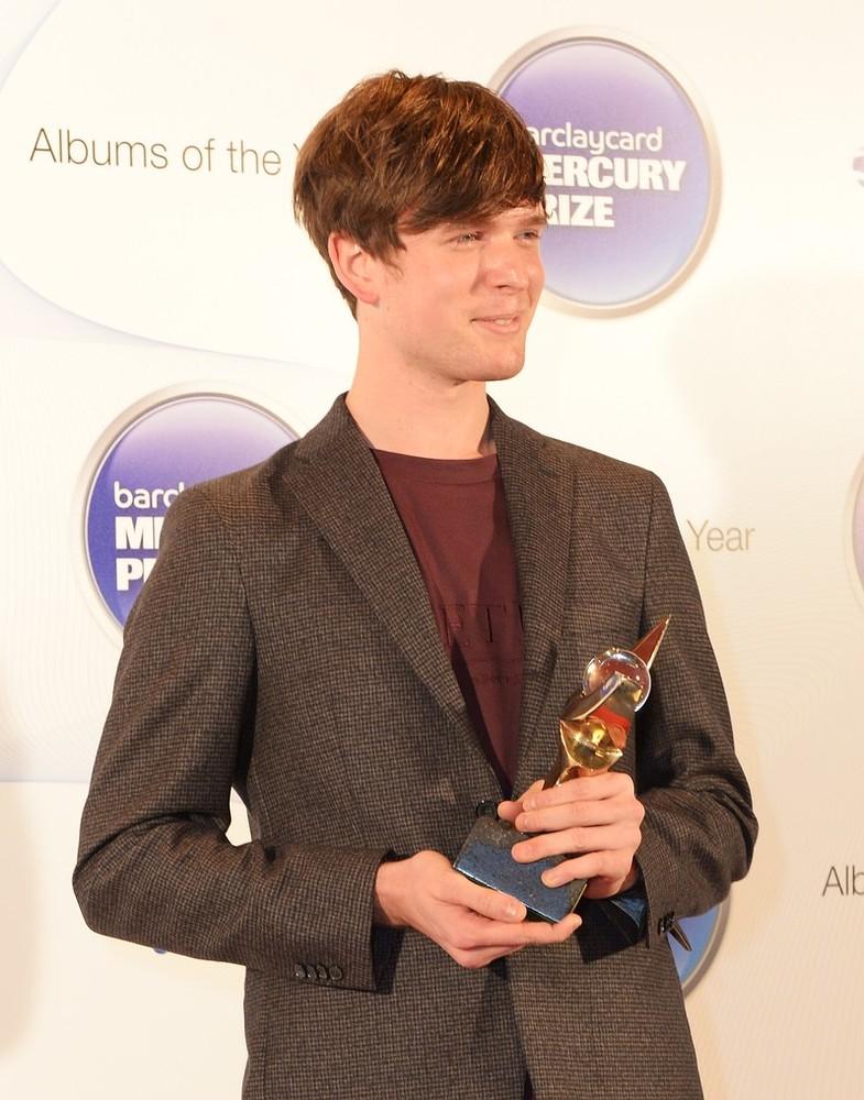Barclaycard Mercury Music Prize winner James Blake declares: 'I am not a sad man'