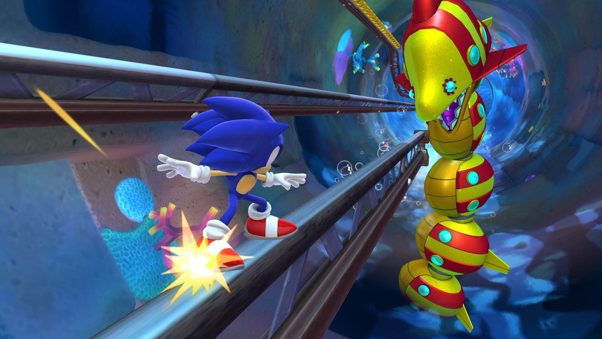 Sonic: Lost World (Wii U) - the magic is not back
