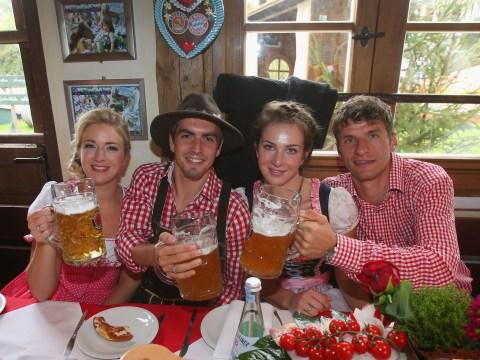Gallery: FC Bayern Muenchen attends Oktoberfest 2013