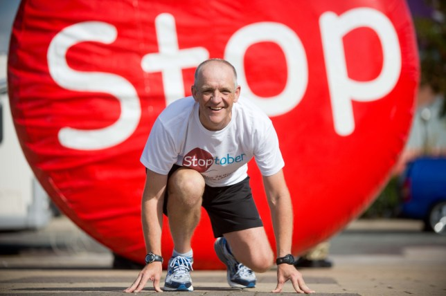 Rory Coleman went from chain-smoking, 15-stone alcoholic to superfit marathon runner (Picture: markwaugh.net)