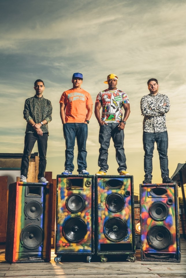 Rudimental take pride in their relative anonymity (Picture: Danny North)
