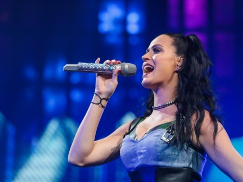 Emotional Katy Perry debuts new track By The Grace Of God as she closes iTunes Festival