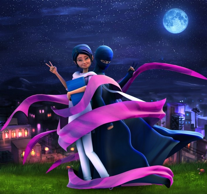 Is the Burka Avenger cartoon subversive fun or barely covered brainwashing?
