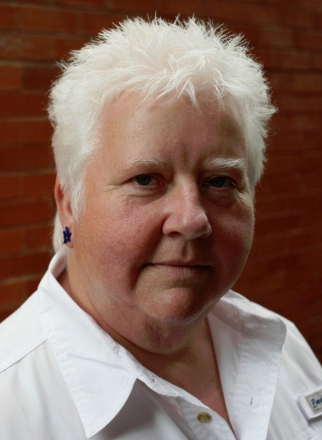 Val McDermid uses her e-reader for old favourites and heavy tomes (Picture: Charlie Hopkinson/Little Brown)