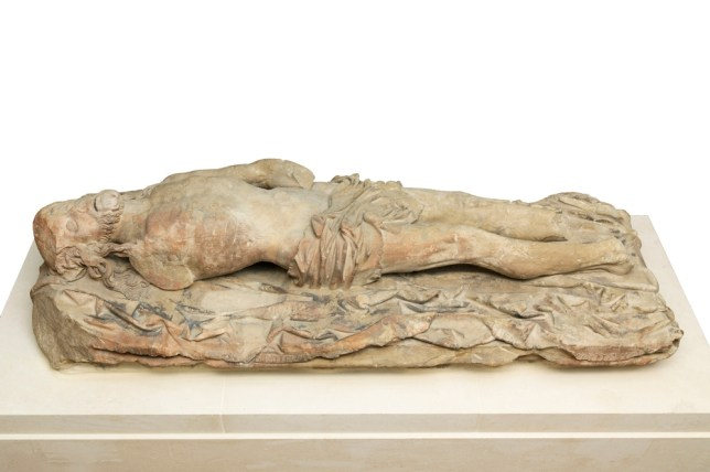 The Statue Of The Dead Christ is at Tate Britain (Picture: The Mercers Company and Tate)