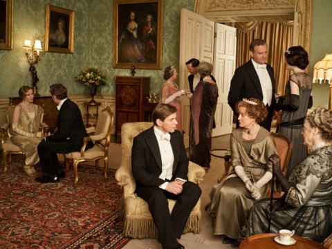 Homeland and Downton Abbey schedule clash sparks 'battle of the remote' in households across UK