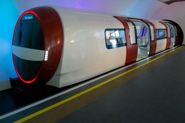 London Underground 150 anniversary: Tube train of tomorrow unveiled
