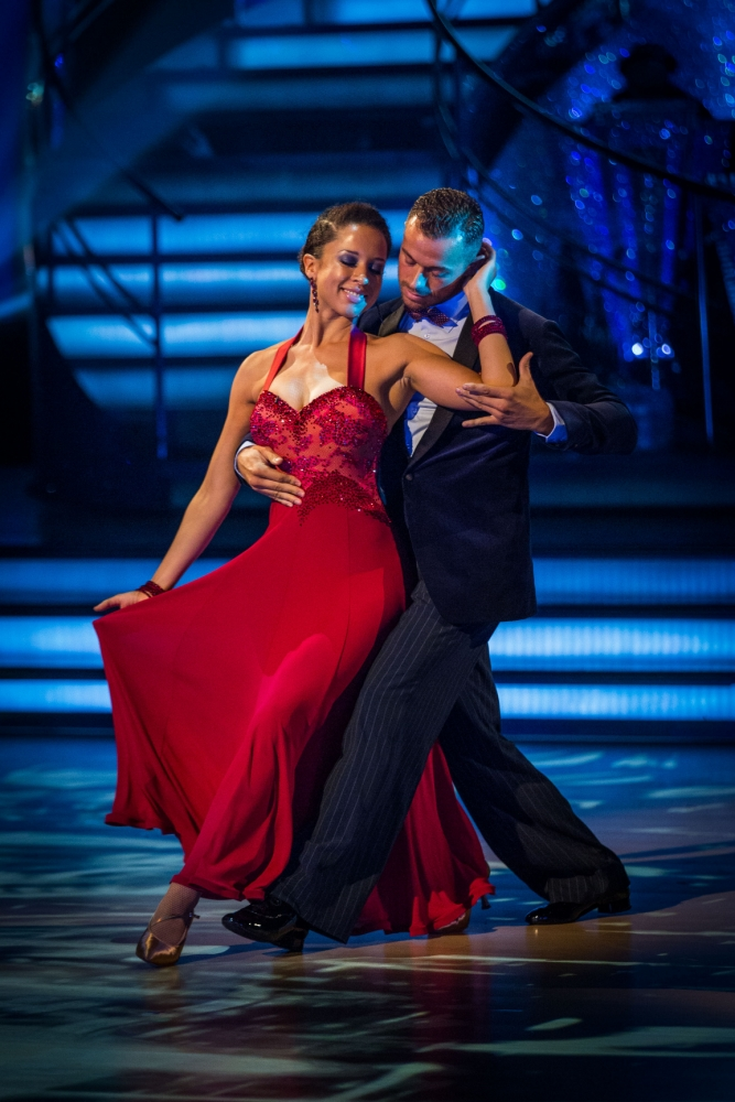 That's sure to bag her some votes! Natalie Gumede reveals steamy pole dancing routine for Strictly final