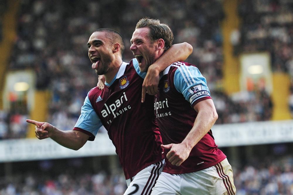 Tottenham 0 West Ham 3: Winston Reid, Ricardo Vaz Te and Ravel Morrison give Hammers thumping victory at White Hart Lane