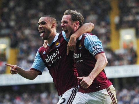 Tottenham 0 West Ham 3: Winston Reid, Ricardo Vaz Te and Ravel Morrison give Hammers thumping victory at White Hart Lane