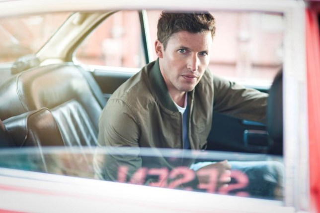 James Blunt deploys his warbly old-lady voice to surprising effect (Picture: supplied)