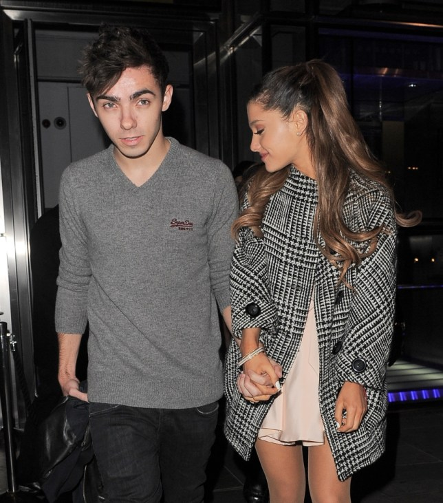 The Wanted's Nathan Sykes and Ariana Grande