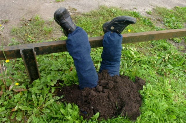 Police called to reports of upside down man find scarecrow in Little Bourton, Oxfordshire