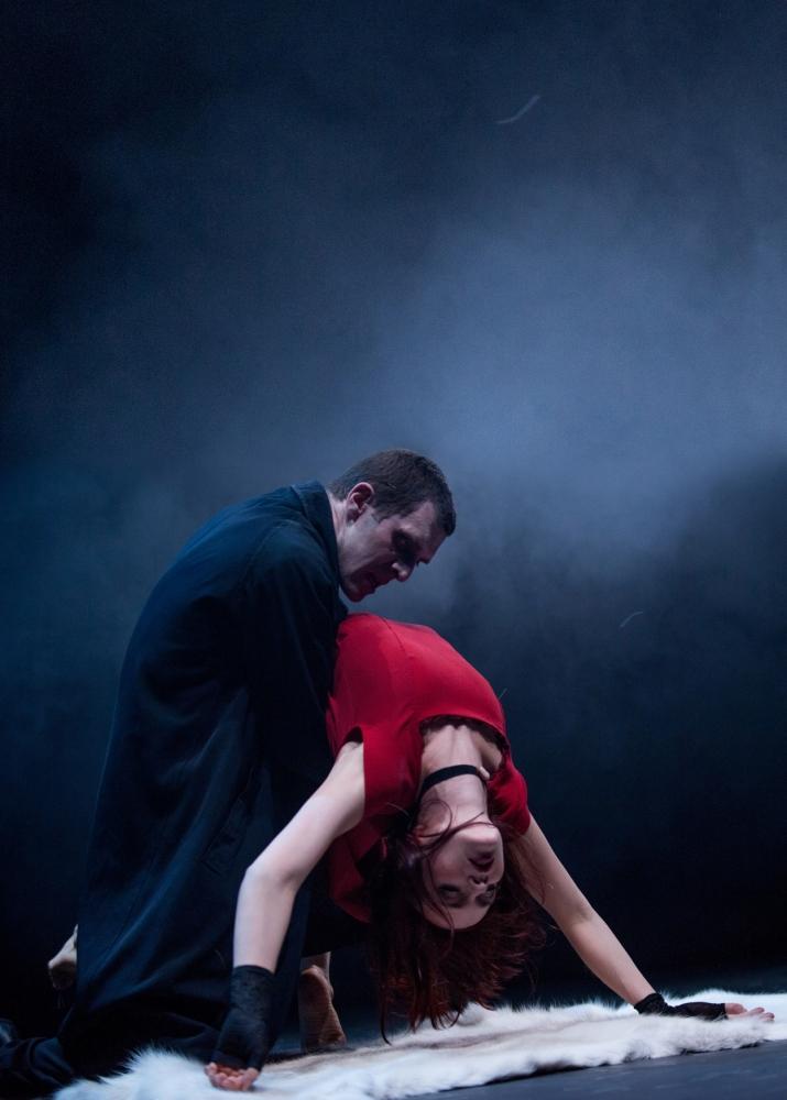 Jonathan Goddard and Kirstin McGuire (Picture: Colin Hawkins)