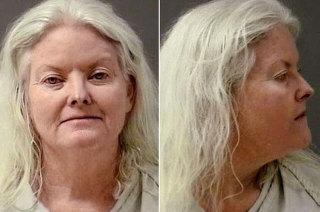 'I'm just too damn drunk': Carole Frances-Omeara is in jail because of the drink driving offence, which is her fourth (Picture: Billings Police Department)