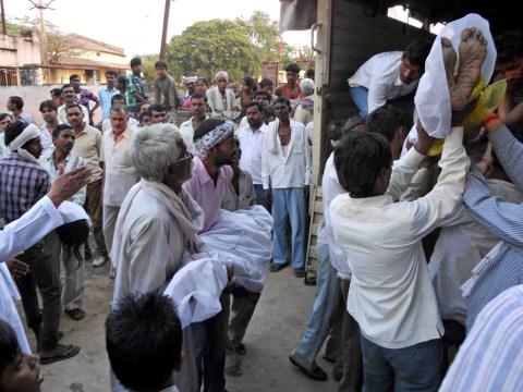 Dozens die after temple stampede in India