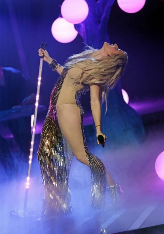 Ellie Goulding 'The X Factor' TV show