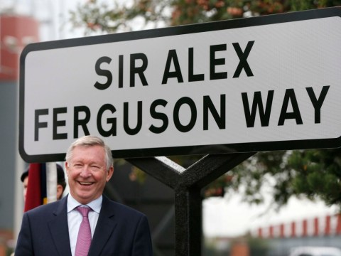 Sir Alex Ferguson Way officially unveiled near Old Trafford