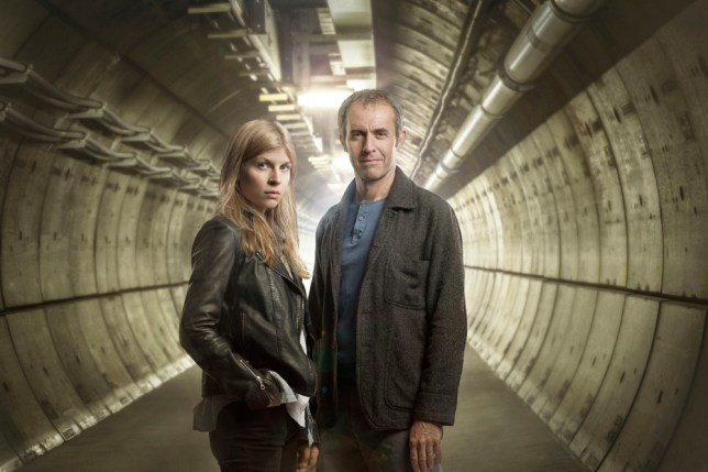 The Tunnel nClemence Poesy (Elise Wassermann) and Stephen Dillane (Karl Roebuck)n©Sky Atlantic/Justin Downing