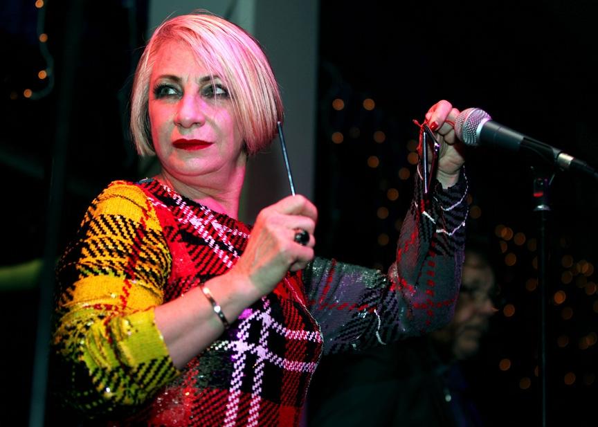 Bette Bright of Liverpool art school rockers Deaf School (Picture: Judy Totton)
