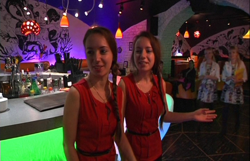 Welcome to the restaurant where the staff are exclusively beautiful twins