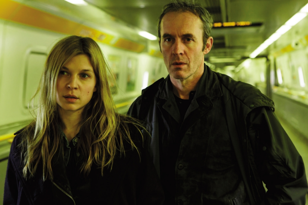 Poésy and Dillane are reluctant partners in solving crime (Picture: supplied)
