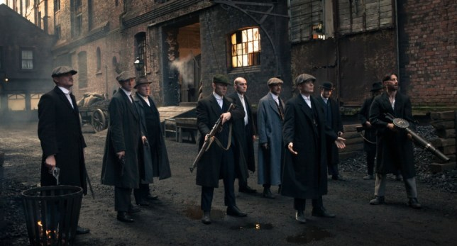 Peaky Blinders ended with a bang. Roll on series two (Picture: Robert Viglasky)