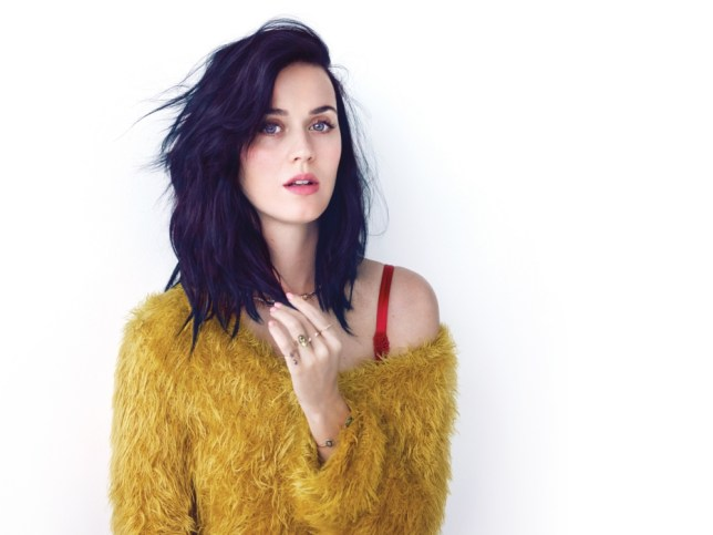 Katy Perry: She's kissed a girl and Russell Brand - now she's got another album out (Picture: supplied)