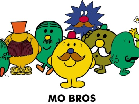 Some Mr Men went to Mo: Characters grow tache to support Movember