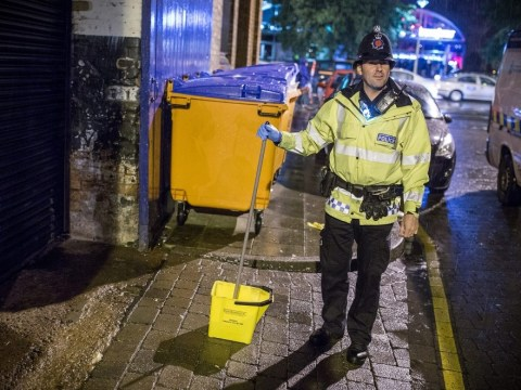 Urine for a fine: Clubbers told to clean up after relieving themselves in the street