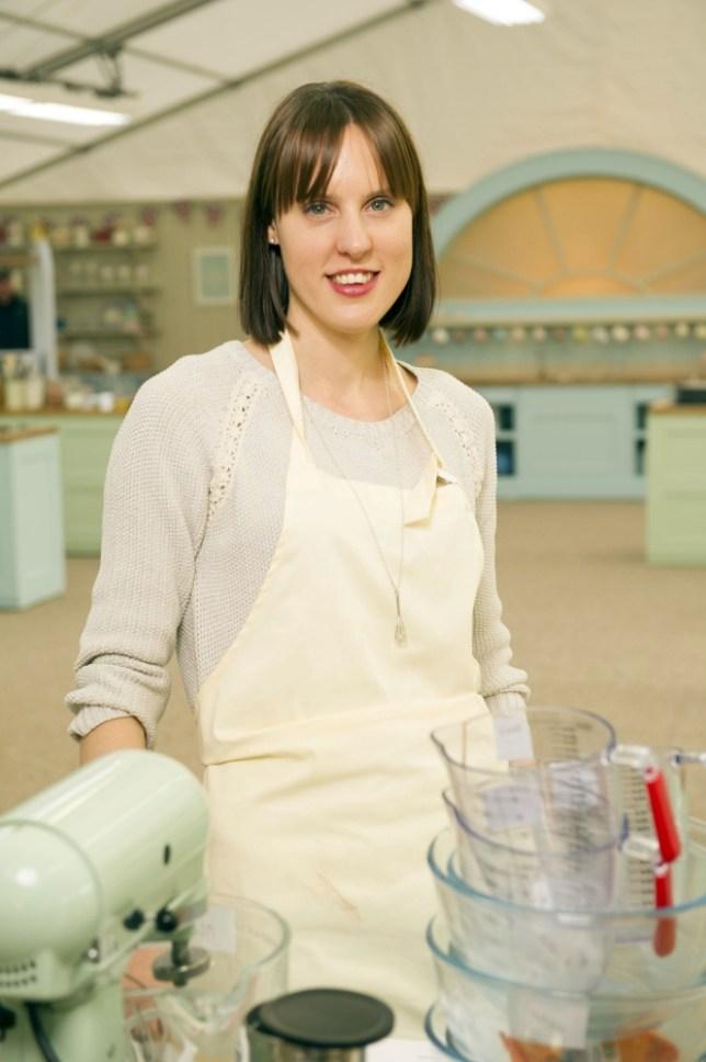Great Bake Off winner Frances (Picture: Des Willie)