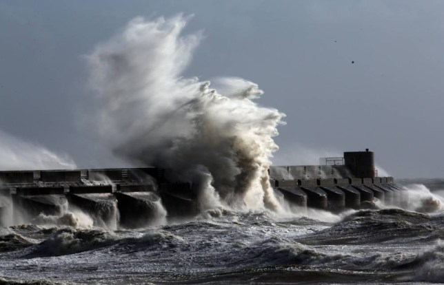 Millions warned to stay indoors as most violent storm in years arrives