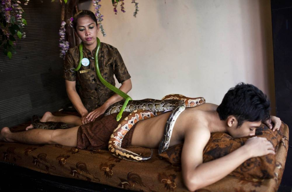 Snake Massage Bali Heritage Reflexology And Spa In -8776