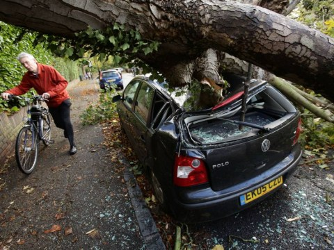 UK storm: St Jude leaves thousands of homes without power and causes widespread flooding