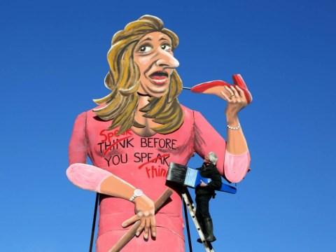Burn her! Katie Hopkins effigy to be set alight
