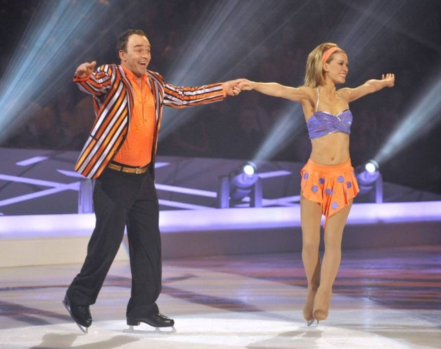 EDITORIAL USE ONLY / NO MERCHANDISING  Mandatory Credit: Photo by Ken McKay/ITV/REX (840646v)  Todd Carty and Susie Lipanova  Dancing on Ice' TV Programme, Britain - 25 Jan 2009