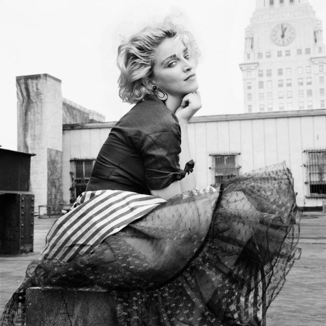 Madonna in New York in 1983 (Picture: Richard Corman)