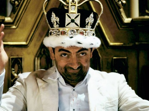 I've Bean to see the Queen: Rowan Atkinson picks up his CBE