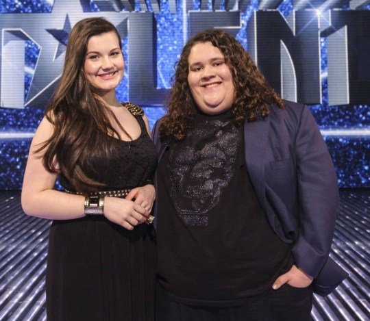 Charlotte Jaconelli and Jonathan Antoine stars of 'Britain's Got Talent' TV Programme (Picture: Supplied)