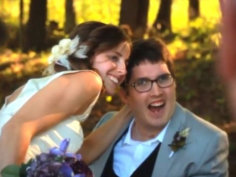 A love story against all odds: Couple get married despite groom's horrific brain injury