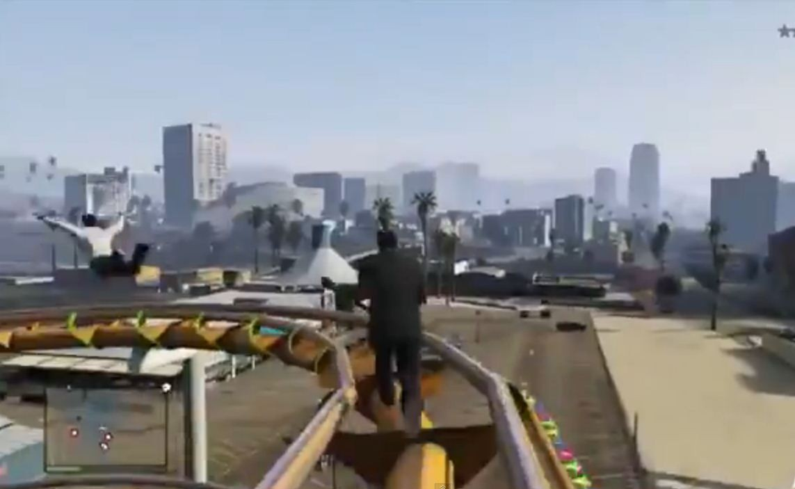 In case you were wondering, here's what GTA 5 Online would be like with WWE commentary