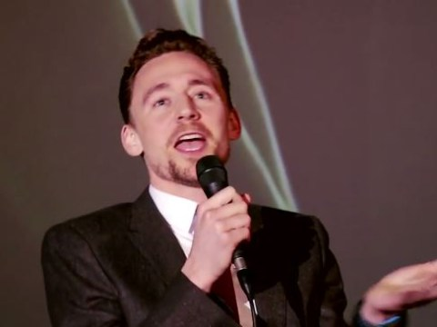 Here's Tom Hiddleston impersonating Owen Wilson if he was Loki