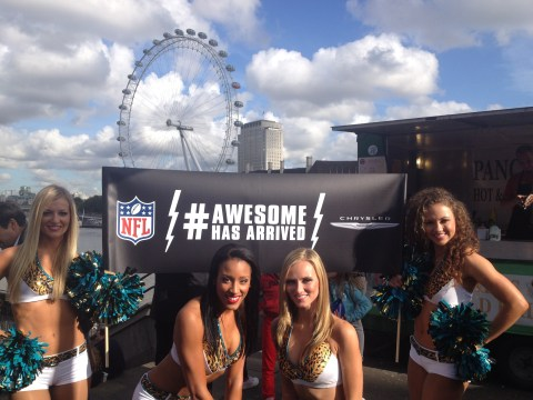 Gallery: The Jacksonville Jaguars cheerleaders tour London
