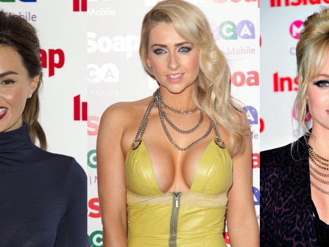 Gallery:  Inside Soap Awards 2013 fashion