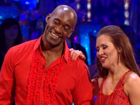 Strictly Come Dancing 2013: Injured Patrick Robinson salsas through the pain
