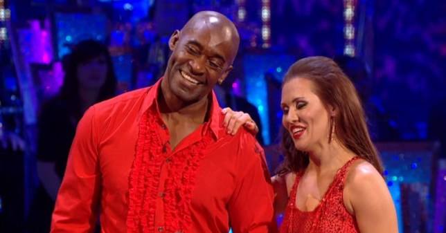 Patrick and Anya muddled through their routine (Picture: BBC)
