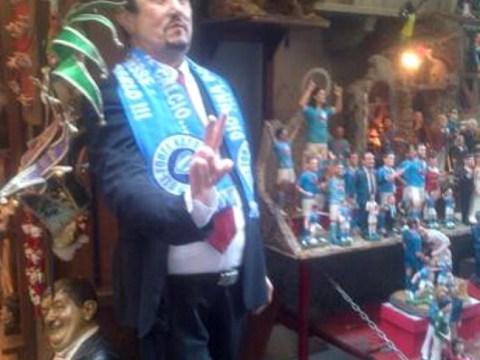 Bargain! Napoli fan sells life-size model of manager Rafa Benitez